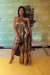 08/09/2018<br />Model Phuti Khomo  is seen on the Yellow carpet arrivals at the 2018 Savanna Comics Choice Awards, LYRIC Theatre, Goldreef City, Johannesburg.<br />Picture: Nhlanhla Phillips/African News Agency/ANA