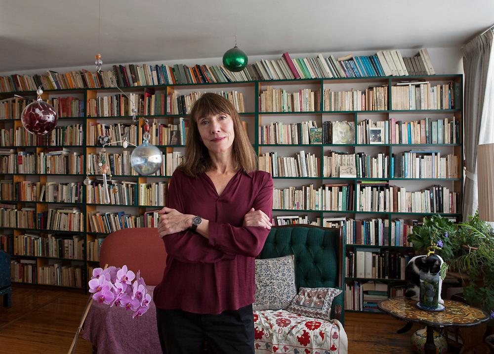 Mexico City, Mexico, February 5, 2019. The Mexican writer Tedi Lopez Mills.<br /><br />Città del Messico, Messico, 5 febbraio 2019. La poetessa Messicana Tedi Lopez Mills.