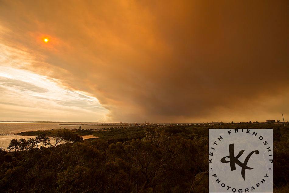Bushfire from La Perouse