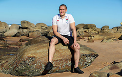 Mike Brown (Harlequins) at the beach in Umhlanga - Mandatory by-line: Steve Haag/JMP - 06/06/2018 - RUGBY - Kashmir Restaurant - Durban, South Africa - England Press Conference, South Africa Tour