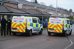 Stabbing - Leishman Drive Dunfermline - 09-12-2020<br /> <br /> Police at the scene of the stabbing in Leishman Drive, Dunfermline<br /> <br /> (c) David Wardle | Edinburgh Elite media