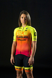 Urska Bravec of Alé BTC Ljubljana, professional women cycling team, on November 15, 2019 in Ljubljana, Slovenia. Photo by Sportida