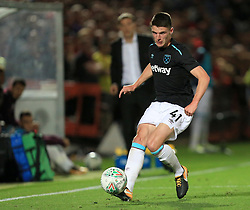 Declan Rice of West Ham United - Mandatory by-line: Paul Roberts/JMP - 23/08/2017 - FOOTBALL - LCI Rail Stadium - Cheltenham, England - Cheltenham Town v West Ham United - Carabao Cup