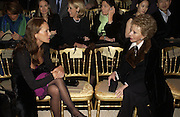 Andrea Dellal and Lily Safra, Valentino couture show, Ecole Nationale Superiore des Beaux -Arts, rue Bonaparte. After party at the Ritz. 23 January  2006.  ONE TIME USE ONLY - DO NOT ARCHIVE  © Copyright Photograph by Dafydd Jones 66 Stockwell Park Rd. London SW9 0DA Tel 020 7733 0108 www.dafjones.com