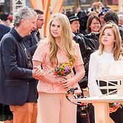 NLD/Groningen/20180427 - Koningsdag Groningen 2018, Prinses Amalia en prinses Ariane