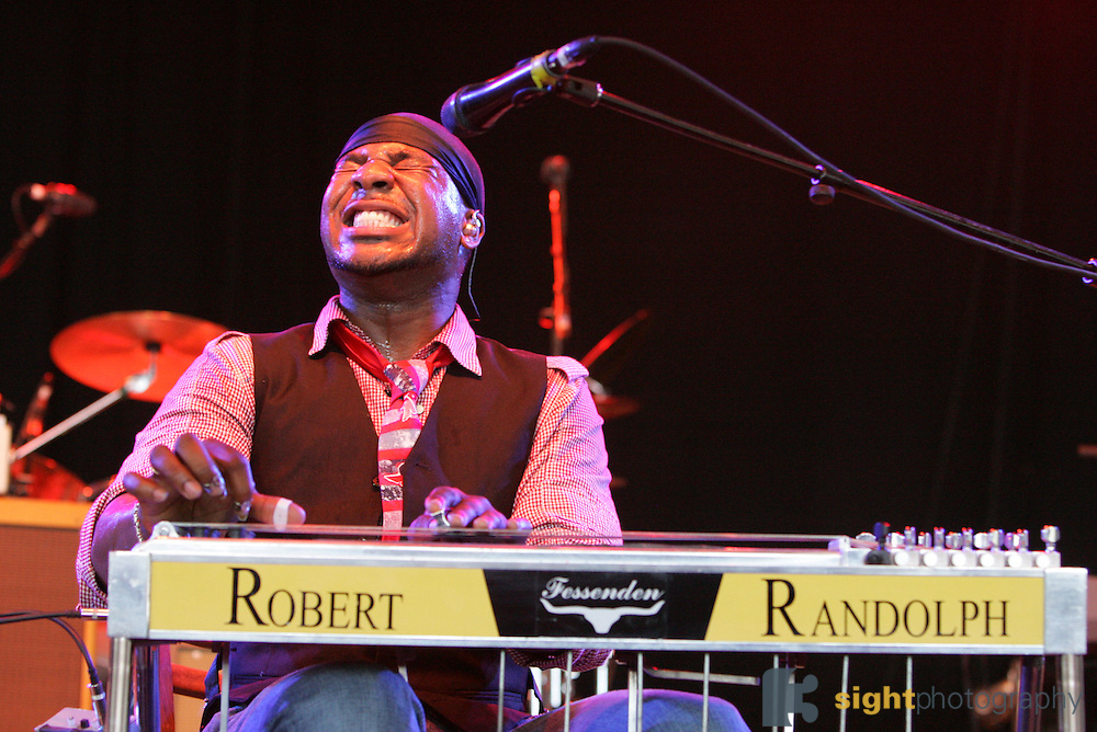 Robert Randolph and the Family Band perform on the forth day of the 2008 Bonnaroo Music & Arts Festival on June 15, 2008 in Manchester, Tennessee. The four-day music festival features a variety of musical acts, arts and comedians..Photo by Bryan Rinnert