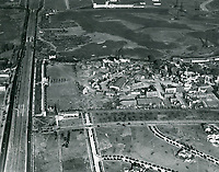 1928 Aerial of Fox Movietone Studios in West Los Angeles
