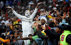 Cape Town 18-03-14  Fans enjoying the Game Between Cape Town city and  Orlando Pirates Nedbank Cup game  Cape Town Stadium Pictures Ayanda Ndamane African news agency/ANA