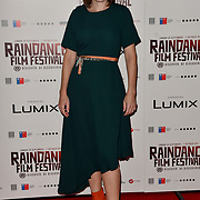 Kacey Ainsworth attends the Raindance Opening Gala 2018 held at Vue West End, Leicester Square on September 26, 2018 in London, England.