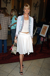LADY EMILY COMPTON at a fashion show featuring the Miss Selfridge Autumn/Winter '05 collections held at The Wallace Collection, Manchester Square, London W1 on 6th April 2005.<br />