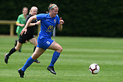 Southern United's Renee Bacon makes a break in the National womens league football match, Central Football v Southern United, Massey University, Palmerston North, Sunday, December 02, 2018. Copyright photo: Kerry Marshall / www.photosport.nz