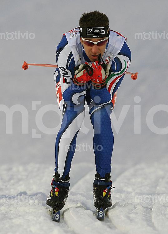 Sapporo , 220207 , Nordische Ski Weltmeisterschaft  Sprintrennen der Maenner ,  Loris FRASNELLI (ITA)