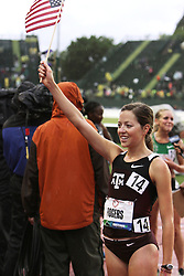 Olympic Trials Eugene 2012: women's 10,000 meter final, Natosha Rogers makes Olympic team