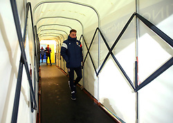 Cauley Woodrow of Bristol City arrives at the Macron Stadium ahead of the fixture with Bolton Wanderers - Mandatory by-line: Robbie Stephenson/JMP - 02/02/2018 - FOOTBALL - Macron Stadium - Bolton, England - Bolton Wanderers v Bristol City - Sky Bet Championship