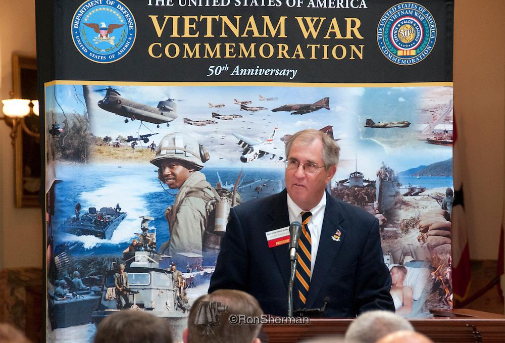 Vietnam Veterans Day in Georgia - A tribute to Georgia Vietnam Medal of Honor Recipients, Atlanta, Georgia - Kurt Mueller speaking