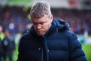 Grant McCann of Doncaster Rovers (Manager) before the The FA Cup fourth round match between Doncaster Rovers and Oldham Athletic at the Keepmoat Stadium, Doncaster, England on 26 January 2019.