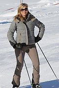 Fotosessie met de koninklijke familie in Lech /// Photoshoot with the Dutch royal family in Lech .<br /> <br /> Op de foto / On the photo: Prinses Maxima