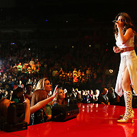 MINNEAPOLIS, MN - NOVEMBER 21:  Selena Gomez performs on November 21, 2013 at Target Center in Minneapolis, Minnesota. (Photo by Adam Bettcher/Getty Images) *** LOCAL CAPTION ***  Selena Gomez