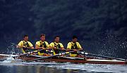 Lucerne, SWITZERLAND. RSA M4- 1992 FISA World Cup Regatta, Lucerne. Lake Rotsee.  [Mandatory Credit: Peter Spurrier: Intersport Images] 1992 Lucerne International Regatta and World Cup, Switzerland