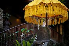 Murni's Warung, Ubud, Bali, Ceremony on the River