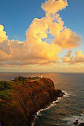 Lighthouse On The Point In Kaui