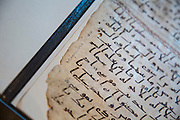 A Qur'an manuscript held by the University of Birmingham has been placed among the oldest in the world thanks to modern scientific methods.<br /> <br /> Radiocarbon analysis has dated the parchment on which the text is written to the period between AD 568 and 645 with 95.4% accuracy. The test was carried out in a laboratory at the University of Oxford. The result places the leaves close to the time of the Prophet Muhammad, who is generally thought to have lived between AD 570 and 632.<br /> <br /> The Qur'an manuscript will be on public display at the University of Birmingham from Friday 2 October until Sunday 25 October and then at the Birmingham Museum and Art Gallery in 2016.