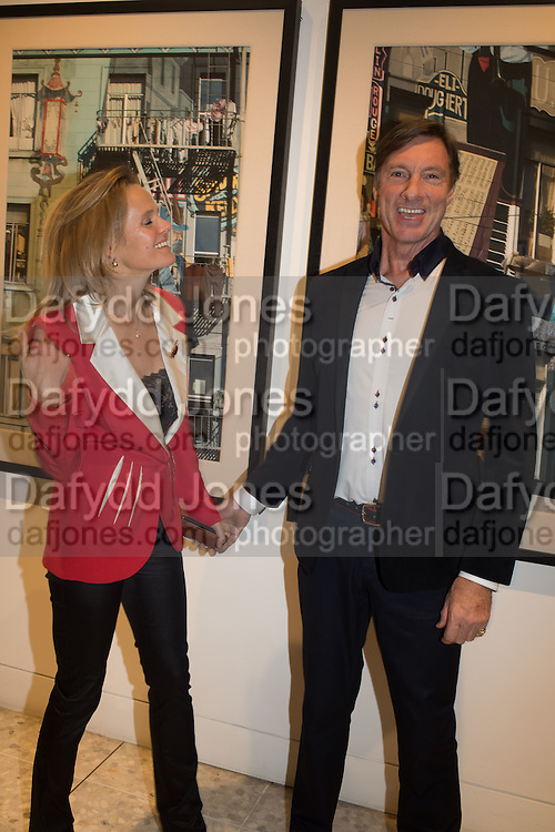 LADY HARRIET BROCKET; LORD CHARLIE BROCKET, Luxem Events and Piper Building Arts present 'Invisible City'. An exhibition of contemporary photography featuring artists Lady Harriet Brocket, Kenny Laurenson and Gavin Aldred. <br /> The Piper Building, Peterborough Rd. London. 12 November 2015
