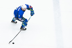 PRETNAR Klemen (SLO) during OI pre-qualifications of Group G between Slovenia men's national ice hockey team and Croatia men's national ice hockey team, on February 7, 2020 in Ice Arena Podmezakla, Jesenice, Slovenia. Photo by Peter Podobnik / Sportida