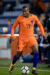 Gervane Kastaneer of Jong Oranje during the EURO U21 2017 qualifying match between Netherlands U21 and Latvia U21 at the Vijverberg stadium on October 06, 2017 in Doetinchem, The Netherlands