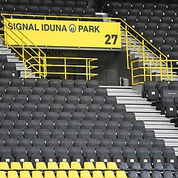 27.06.2020, xmeix, 1.Fussball Bundesliga, Borussia Dortmund - TSG 1899 Hoffenheim, empor. v.l.n.r, <br /> Stadionansichten<br /> <br /> <br /> <br /> Foto: Sascha Meiser/APF/Pool/PIX-Sportfotos<br /> <br /> Nur für journalistische Zwecke!<br /> Only for editorial use!<br /> Nutzungsbedingungen: http://poolbilder.de/nutzungsvereinbarung.pdf<br /> <br /> Foto © PIX-Sportfotos *** Foto ist honorarpflichtig! *** Auf Anfrage in hoeherer Qualitaet/Aufloesung. Belegexemplar erbeten. Veroeffentlichung ausschliesslich fuer journalistisch-publizistische Zwecke. For editorial use only. DFL regulations prohibit any use of photographs as image sequences and/or quasi-video.