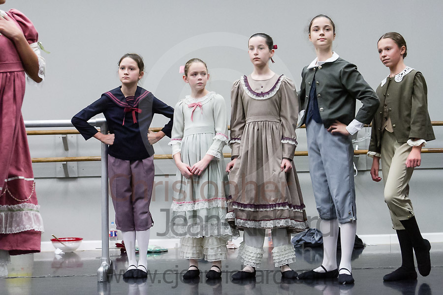 Students of the Vitacca Vocational School for Dance Woodlands in the final Studio Rehearsal of The Nutcracker - 2018.<br /> <br /> The Woodlands, TX