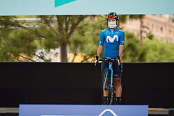 Paula Patino Bedoya (COL) at the 2020 La Course By Le Tour with FDJ, a 96 km road race in Nice, France on August 29, 2020. Photo by Sean Robinson/velofocus.com