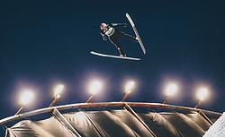 01.03.2020, Salpausselkae Hill, Lahti, FIN, FIS Weltcup Ski Sprung, Herren, im Bild Karl Geiger (GER) // Karl Geiger of Germany during the men's ski jumping competition of FIS Ski Jumping World Cup at the Salpausselkae Hill in Lahti, Finland on 2020/03/01. EXPA Pictures © 2020, PhotoCredit: EXPA/ JFK