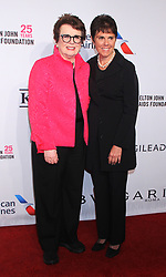 Elton John Aids Foundation's 17th Annual An Enduring Vision Benefit at Cipriani 42nd Street in New York November 05, 2018 CAP/MPI/RW ©RW/MPI/Capital Pictures. 05 Nov 2018 Pictured: Billie Jean King, Ilana Kloss. Photo credit: RW/MPI/Capital Pictures / MEGA TheMegaAgency.com +1 888 505 6342