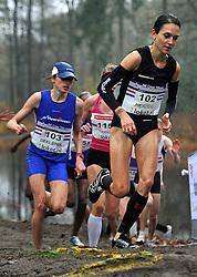 27-11-2011 ATLETIEK: NK CROSS 53e WARANDELOOP: TILBURG<br /> (L-R) Andrea Deelstra, Adrienne Herzog<br /> ©2011-FotoHoogendoorn.nl