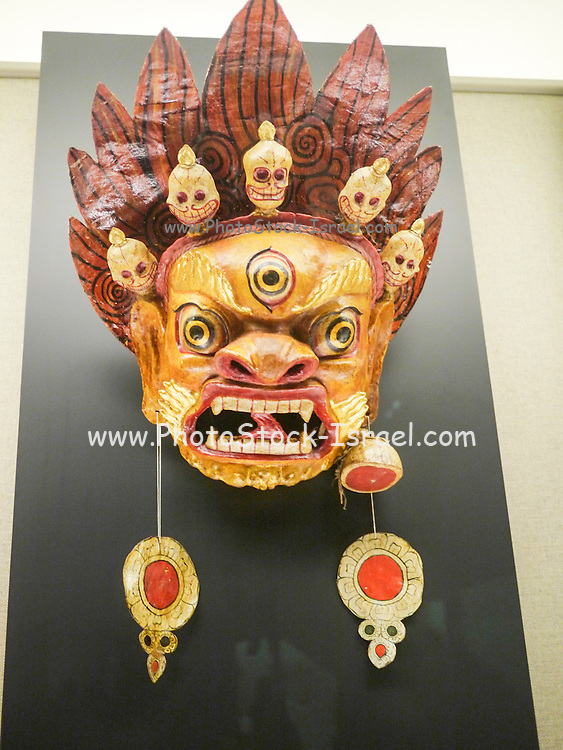 China, Shanghai Museum Chinese mask collection