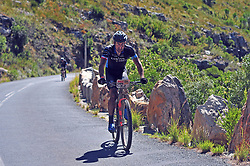 WELLINGTON SOUTH AFRICA - MARCH 22: Kristian Hynek during stage three's 111km from Wellington to Worcester on March 22, 2018 in Western Cape, South Africa. Mountain bikers gather from around the world to compete in the 2018 ABSA Cape Epic, racing 8 days and 658km across the Western Cape with an accumulated 13 530m of climbing ascent, often referred to as the 'untamed race' the Cape Epic is said to be the toughest mountain bike event in the world. (Photo by Dino Lloyd)