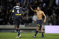 FOOTBALL - FRENCH CHAMPIONSHIP 2009/2010  - L1 - OLYMPIQUE LYONNAIS v GIRONDINS BORDEAUX - 13/12/2009 - PHOTO JEAN MARIE HERVIO / DPPI - JOY BORDEAUX
