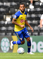 "Southampton's Ryan Bertrand during a pre season friendly match at Pride Park, Derby. PRESS ASSOCIATION Photo. Picture date: Saturday July 21, 2018. Photo credit should read: Anthony Devlin/PA Wire. EDITORIAL USE ONLY No use with unauthorised audio, video, data, fixture lists, club/league logos or ""live"" services. Online in-match use limited to 75 images, no video emulation. No use in betting, games or single club/league/player publications."
