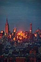 Midtown Manhattan @ Sunset