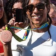 NLD/Den Haag/20160824 - Huldiging sport Rio 2016, winnares Anicka van Emden