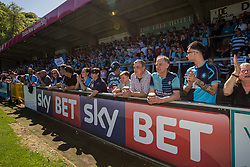 Wycombe Wanderers fans - Mandatory by-line: Jason Brown/JMP - 05/05/2018 - FOOTBALL - Adam's Park - High Wycombe, England - Wycombe Wanderers v Stevenage - Sky Bet League Two