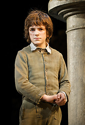 Oliver!<br /> by Lionel Bart<br /> at the Theatre Royal, Drury Lane, London, Great Britain<br /> press photocall<br /> 12th January 2009<br /> <br /> <br /> Harry Stott (as Oliver)
