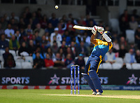 Cricket - 2019 ICC Cricket World Cup - Group Stage: England vs. Sri Lanka<br /> <br /> Sri Lanka's Avishka Fernando dismissed as he guides the ball to England's Adil Rashid off the bowling of England's Mark Wood for 49, at Headingley, Leeds<br /> <br /> COLORSPORT/ASHLEY WESTERN