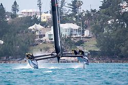 Artemis Racing training on T1 in Bermuda. 18th of March, 2016, Morgan's Point, Bermuda