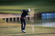 Joakim Lagergren (SWE) from the DZ on the 16th during Round One of the 2015 Alstom Open de France, played at Le Golf National, Saint-Quentin-En-Yvelines, Paris, France. /03/07/2015/. Picture: Golffile | David Lloyd<br /> <br /> All photos usage must carry mandatory copyright credit (© Golffile | David Lloyd)
