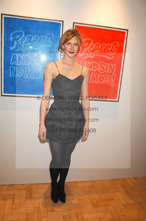 Actress MARGO STILLEY at the TOD's Art Plus Film Party 2008 hosted by The Whitechapel Art Gallery at a former church at 1 Marylebone Road, London NW1 on 6th March 2008.<br /><br />NON EXCLUSIVE - WORLD RIGHTS