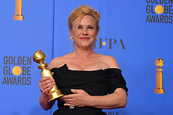 January 6, 2019 - Los Angeles, California, U.S. - Patricia Arquette in the Press Room during the 76th Annual Golden Globe Awards at The Beverly Hilton Hotel. (Credit Image: © Kevin Sullivan via ZUMA Wire)