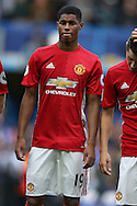 Marcus Rashford of Manchester United looking on. Premier league match, Chelsea v Manchester Utd at Stamford Bridge in London on Sunday 23rd October 2016.<br /> pic by John Patrick Fletcher, Andrew Orchard sports photography.