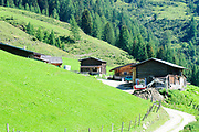 Winnertal farm in Zillertal, Tyrol, Austria